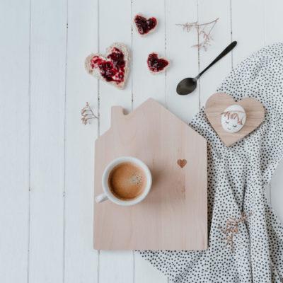 Brett und Kaffee