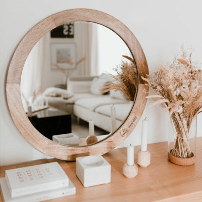 Spiegel groß